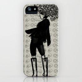 Esqueleto iPhone Case