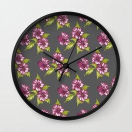 Jessica Grey Wall Clock