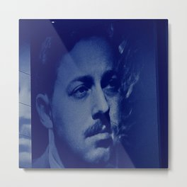 Tennessee Williams Metal Print