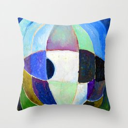 Theo van Doesburg Sphere Throw Pillow