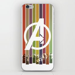 VINTAGE OF ULTRON iPhone Skin