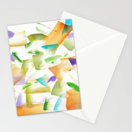 180719 Koh-I-Noor Watercolour Abstract 19art, modern, abstract, nordic, watercolour, watercolor,colo Stationery Cards