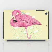 flamingo iPad Cases featuring Flamingo by dogooder