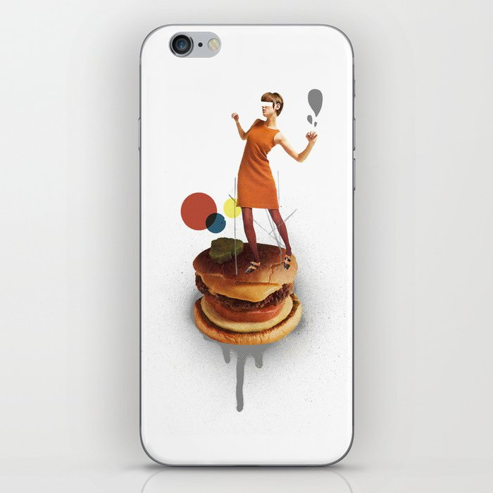 These Burgers Are Crazy | Collage iPhone Skin
