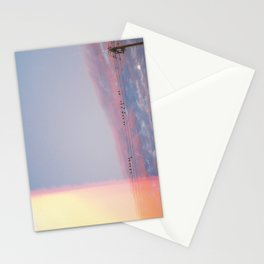 city sunset / los angeles, california Stationery Cards