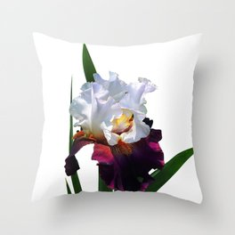 Iris 'Connection' Throw Pillow