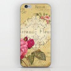 Paris Perfumery iPhone & iPod Skin