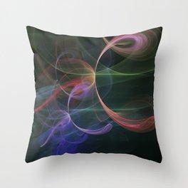 Futuristic Background Throw Pillow