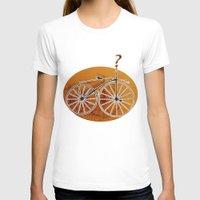 bike T-shirts featuring Bike by CrismanArt