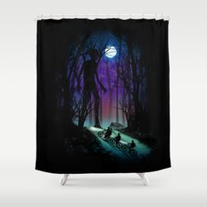 Strange Things Shower Curtain