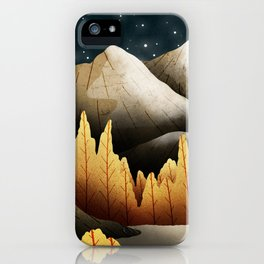 A star filled night  iPhone Case
