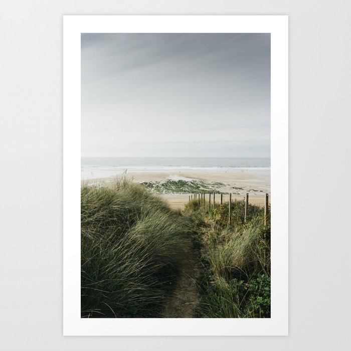 Fistral Beach Art Print