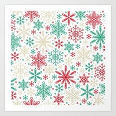 Seasons of Snow Art Print