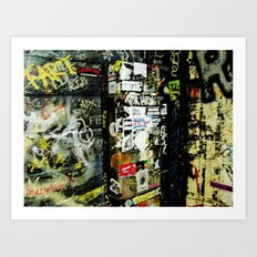 A Dive you Say! Art Print