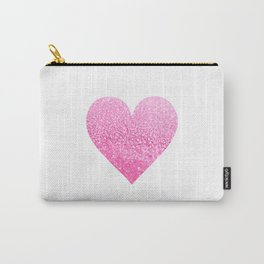 PINK HEART Carry-All Pouch