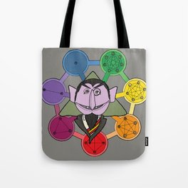 count von count counts regular polygons Tote Bag