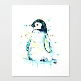 Penguin - Waddle Canvas Print