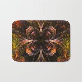 Autumn Forest - Fractal Artwork Bath Mat