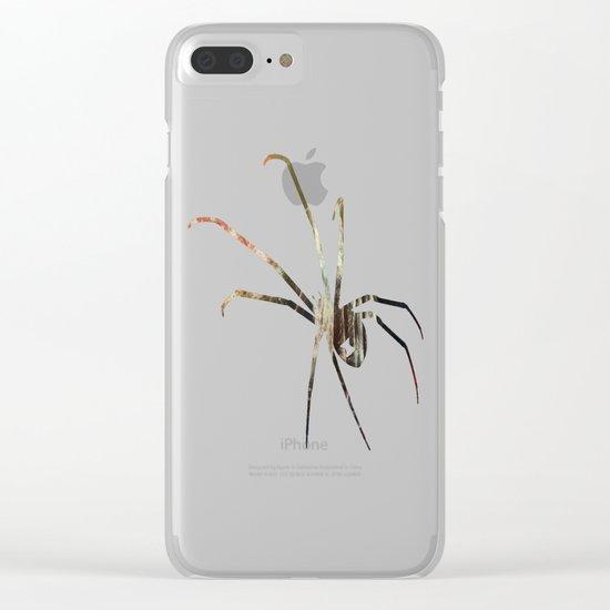 Arachnea Clear iPhone Case