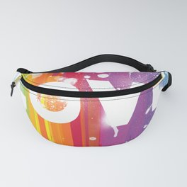 For Love - White Background Fanny Pack