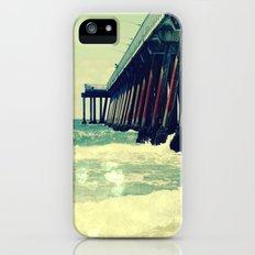 Hermosa Beach Pier Heart Bokeh Slim Case iPhone (5, 5s)