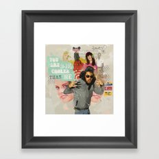 24% Framed Art Print