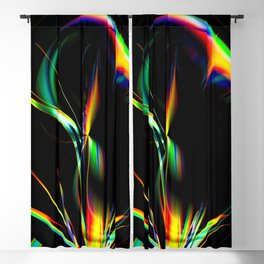 Abstract perfection 202 Blackout Curtain