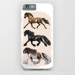 Fluffy and Fluffier iPhone Case