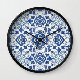 Azulejos Wall Clock