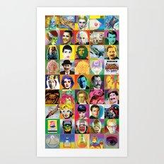 POP Wallpaper Art Print