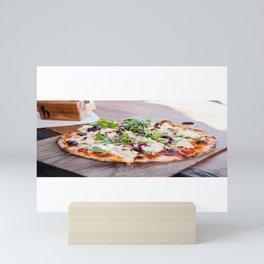 Pizza Slices (38) Mini Art Print
