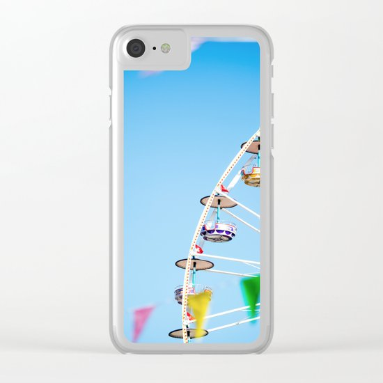 Manege sky colour Clear iPhone Case