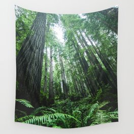 Redwood National Park- Pacific Northwest Nature Photography Wall Tapestry