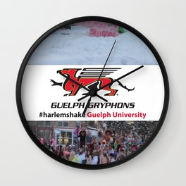Guelph University #harlemshake  Wall Clock