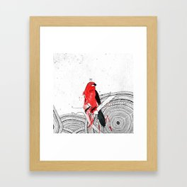 Tiê Framed Art Print