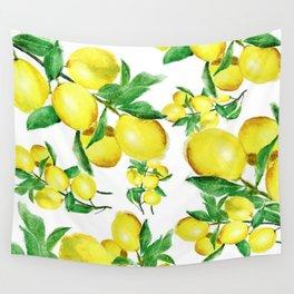 lemon Wall Tapestry