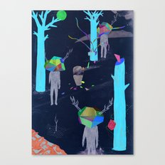 pretence Canvas Print