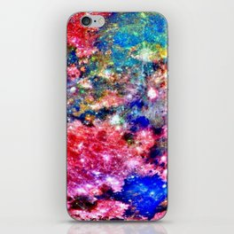 Colorful Moon Surface iPhone Skin