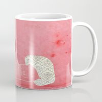 pig Mugs featuring Pig by yael frankel