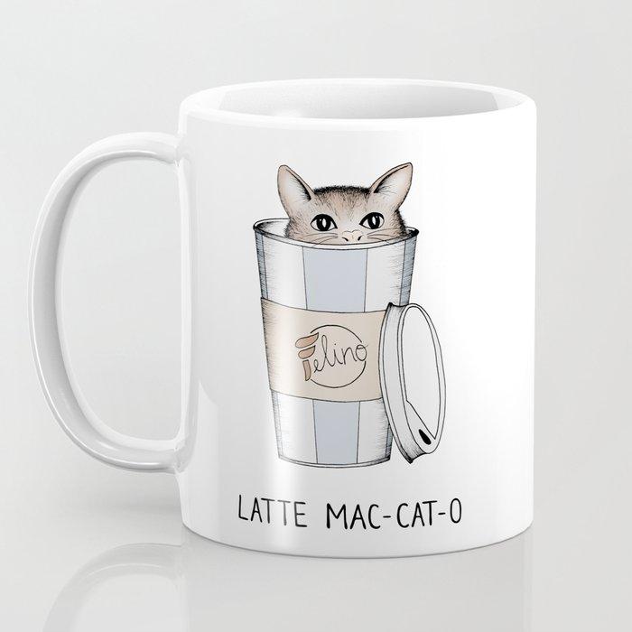 Latte Mac-cat-o Coffee Mug
