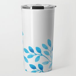 Watercolor Branches Travel Mug
