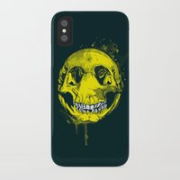 be happy iPhone & iPod Cases featuring happy by Steven Toang