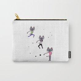 Dance Dance Dance Cat Carry-All Pouch