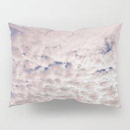 Pink Cotton Candy Clouds Pillow Sham