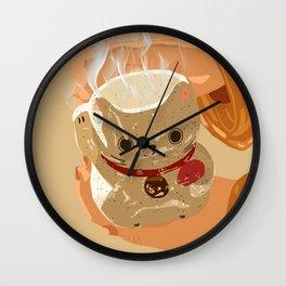 Lunar Cat Wall Clock