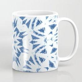 Snowflake Denim & White Coffee Mug