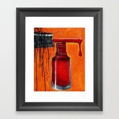 Polish Framed Art Print