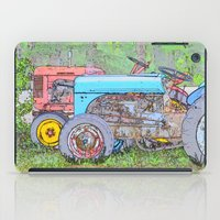 antique iPad Cases featuring Antique Buddies! by Alaskan Momma Bear