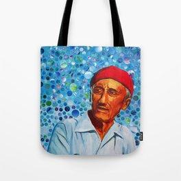 Jacques Cousteau Tote Bag