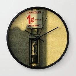 Long distance  Wall Clock